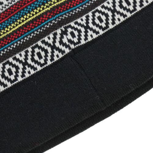 Men/'s Warm Winter Cuff Skull Hat Knit Beanie Ski Cap One Size