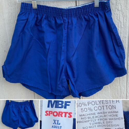 MBF Sports Gym Shorts Short Shorts Elastic Waist X