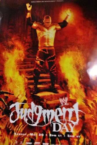 ALWAYS ROLLED NEVER FOLDED WCW ECW NXT 2007 JUDGEMENT DAY PPV POSTER WWE KANE