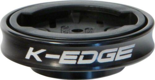 K-Edge Gravity Stem Cap Mount Garmin Edge /& Forerunner Black LIFETIME WARRANTY!