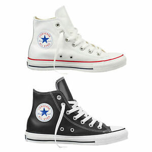 Converse-Chuck-Taylor-All-Star-Hi-herren-lederschuhe-Zapatillas-Hi-Top-Zapatos