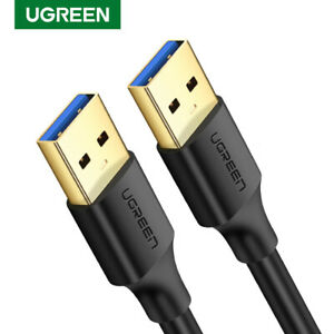 UGREEN USB 3.0 Type A Male to Male Cable for Data Transfer Hard Drive Printer