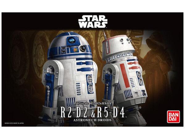 Star Wars 1 12 Star Wars R2-D2 & R5-D4  by Bandai