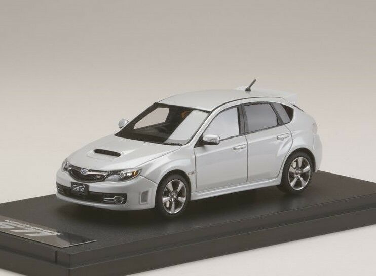 MARK43 PM4370W 1 43 Subaru Impreza WRX STI (GRB) satin bianca pearl model cars
