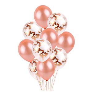 Series-Folie-Latex-Ballon-Set-Helium-Stern-Hochzeit-Geburtstag-Party-Rose-Gold