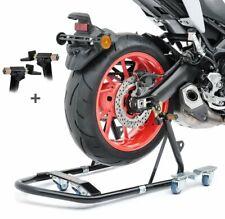 max Carrello Sposta Moto Yamaha MT-09 Tracer per Cavalletto Centrale ConStands Mover II 320 kg grigio