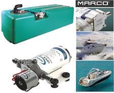 MARCO TK1/2 SERBATOIO 107Lt. + AUTOCLAVE ELETTRONICA DOCCIA 12V-24V BARCA CAMPER
