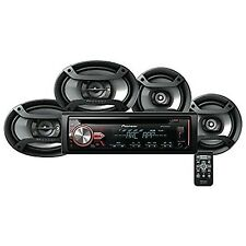 Pioneer CD Receiver with Bluetooth Car Electronics Head Unit Audio Upgrades New