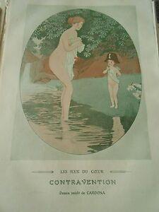 Les-Jeux-du-Coeur-Contravention-Print-Art-deco