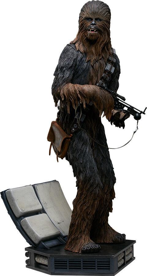 Envío rápido y el mejor servicio Estrella Wars-Chewbacca 23.5  Premium Format Estatua (Sideshow Collectibles)    NEW  El ultimo 2018
