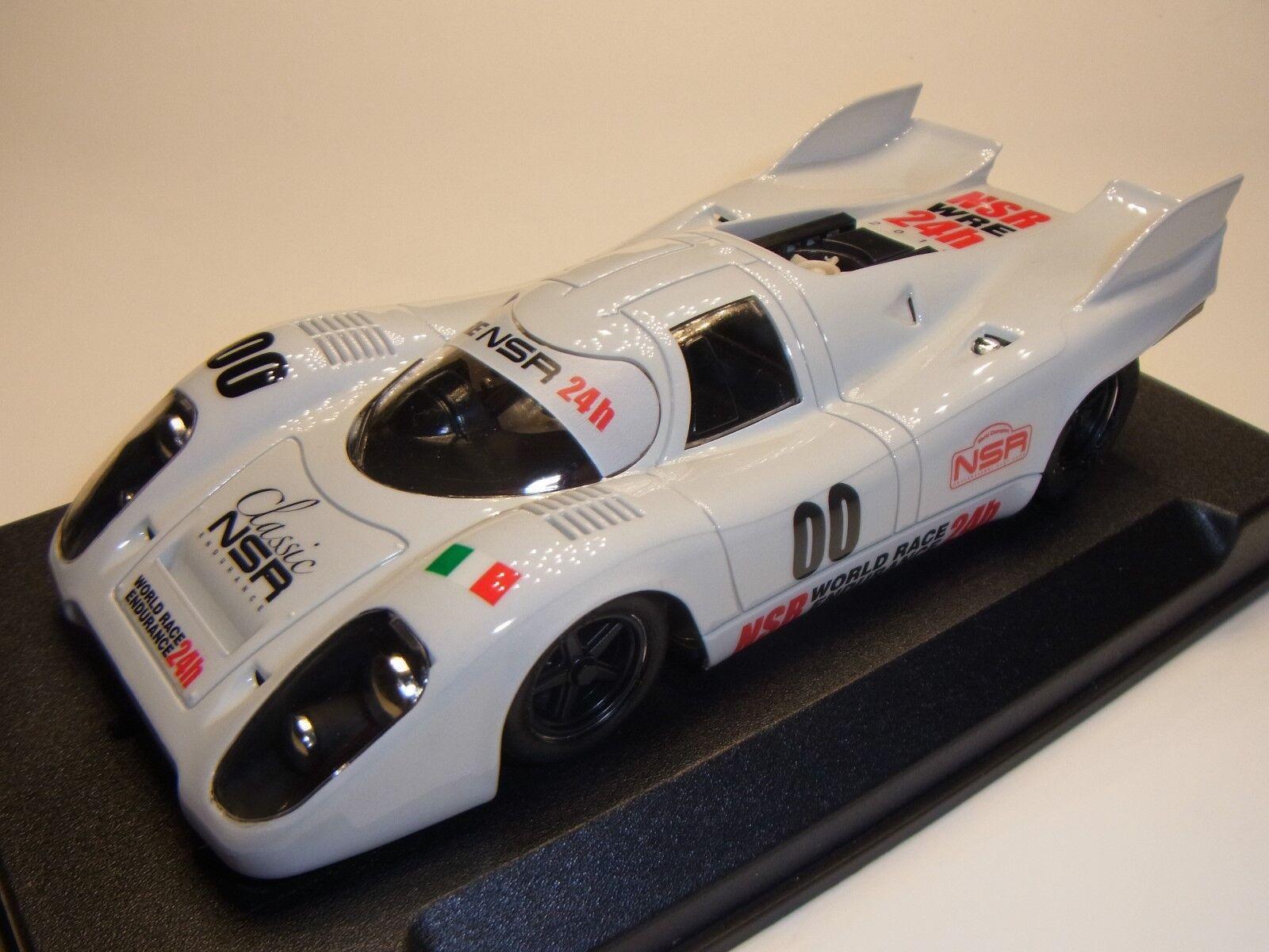 NSR Porsche 917 WR 24h 2014 per Slot auto Racing Track 1 3 2 Slotkar NSRWRE2014