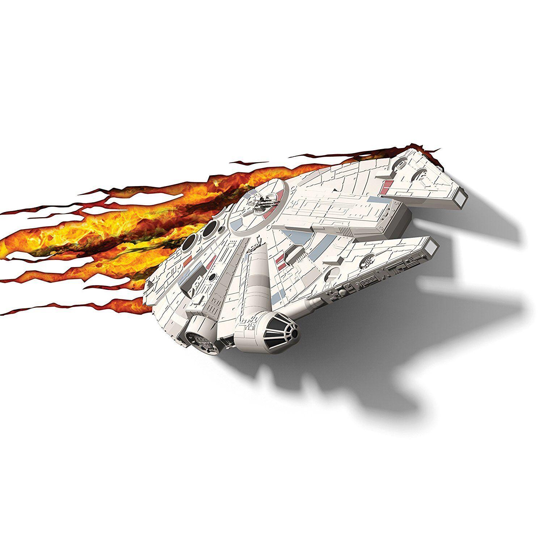 Star Wars Lampara Halcon de Milenario Lampara de Halcon PaRouge  Infantil Habitación Niño Niñ d97ab5