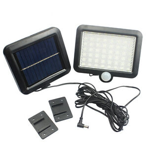 56-LED-Luce-Solare-Lampada-Esterno-Faretto-con-Sensore-di-Movimento-Luci