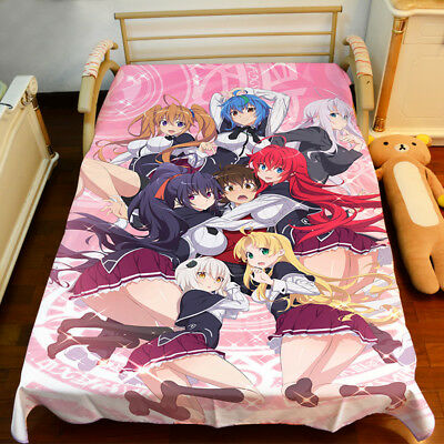 NEW High School DXD Rias Gremory Sheet Bedspread Bed Cover Coverlet Quilt Cover