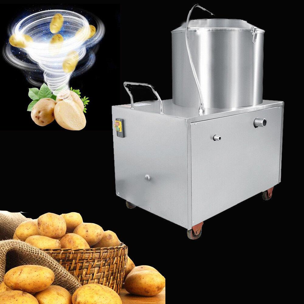 Commercial éplucheuse Electric éplucheur patate douce Nettoyage Outil FDA