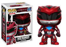 """POWER RANGERS - RED RANGER 3.75"""" POP VINYL FIGURE 400 UK SELLER IN STOCK"""