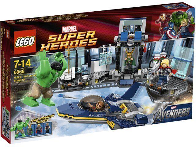 LEGO LEGO LEGO 6868 Super Heroes Hulk´s Helicarrier Ausbruch, NEU und OVP e47cbe