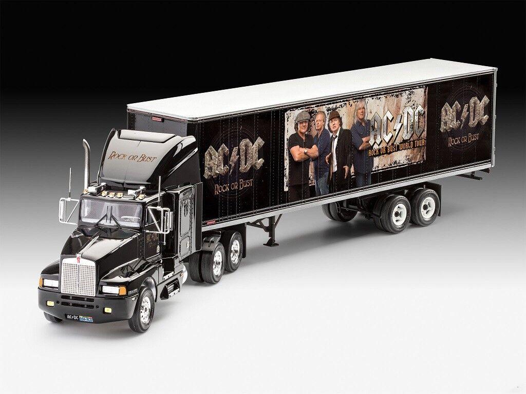 Revell 07453 Ac Dc Tour Camion 1 32 Scala ,di Plastica Kit Gratis Tracciabile 48
