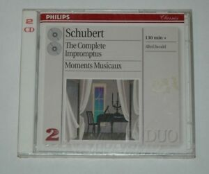 2-CD-SEALED-NEW-SCHUBERT-THE-COMPLETE-IMPROMPTUS-BRENDEL-Philips-456061-2