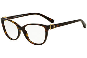 ade9045031 Image is loading Emporio-Armani-EA3077-5026-Havana-Brown-RX-Eyeglasses-