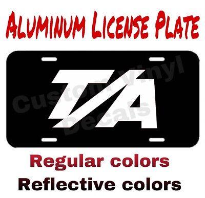 Dodge SRT MOTORSPORT ALUMINUM LICENSE PLATE many colors//reflective colors