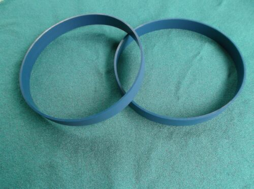 2 BLUE MAX PRO SERIES .110 THICK BAND SAW TIRES FOR SEARS CRAFTSMAN 113243440