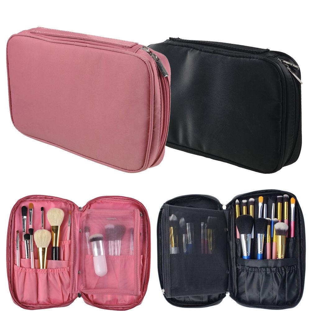 Pen Handbag Pocket Case Organizer Cosmetic Pouch Brush