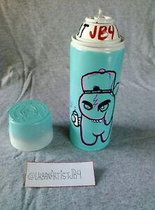 PUFF BY Artist JB4 Special Edition Spray Can Paint Urban Art Blue Artwork Design