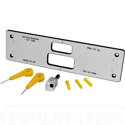 Unika Compact Hinge Jig Recess 76mm and 102mm Hinges in Door and Door Frame cwt1