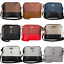 Women-Ladies-Crossbody-Leather-Shoulder-Bag-Tote-Purse-Handbag-Messenger-Satchel thumbnail 1