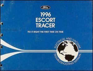 1996 Ford Escort Mercury Tracer Elektrisch Staubsauger Troubleshooting Manuell SorgfäLtige FäRbeprozesse Anleitungen & Handbücher