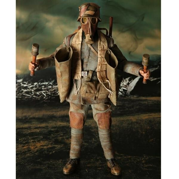 DID 1 6 Scale Scale Scale 12  WWI Grenadier Lutz Fedder Action Figure Special Edition D11008 0c2e01