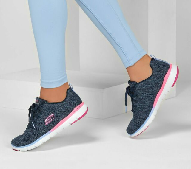 skechers pink shoes womens