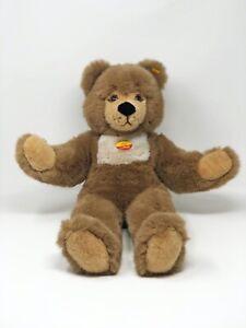 Steiff-Teddy-Baer-MOLLY-mit-Stimme-KFS-48-cm-Nr-021305-neuwertig-unbespielt