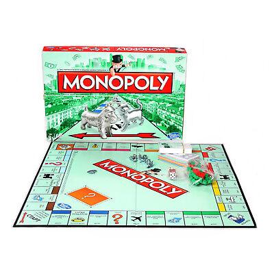 Russische Version Hasbro Brettspiel Monopoly Classic Partyspiel Familienspiel