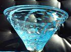 Holmegaard Art Glass Bowl Michael Bang - Scandinavian Danish Design Vintage MCM