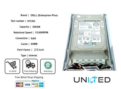 DELL Enterprise Plus ST9300453SS 300GB 15000 RPM 64MB Cache SAS 6Gbs 2.5 INT HDD
