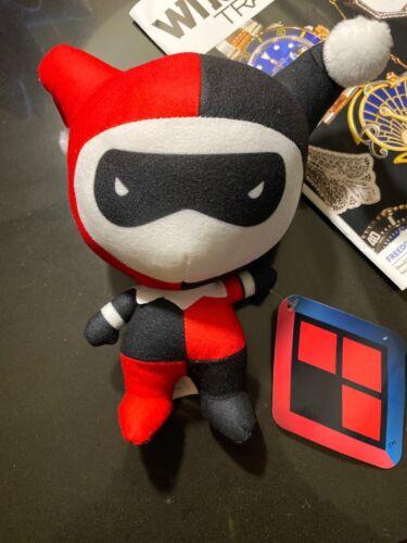 Nouvelle Harley Quinn Peluche Rouge Noir Toy Factory Doll Figure DC Comics Batman Joker
