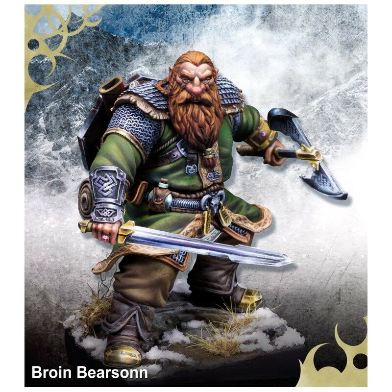 Scale 75 Broin Bearsonn Dwarf 75mm scale Resin UNPAINTED Kit