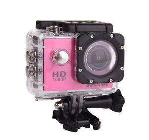12MP PINK HD 1080P Sports DV Car Helmet Action Mini Camera Waterproof DVR IN9Q