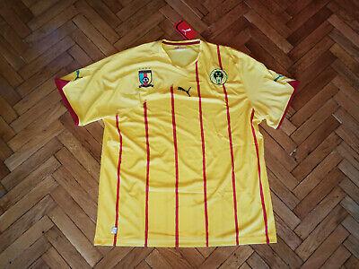Cameroon Soccer Jersey Puma Away Top Football Shirt Trikot Cameroun Maillot NEW | eBay