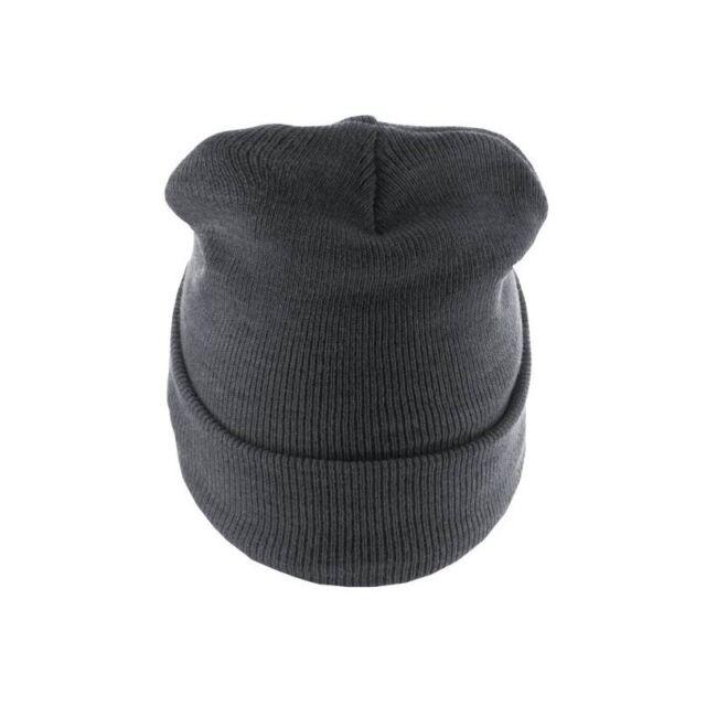 MasterDis Beanie Basic Flap Long Version Heater Gray