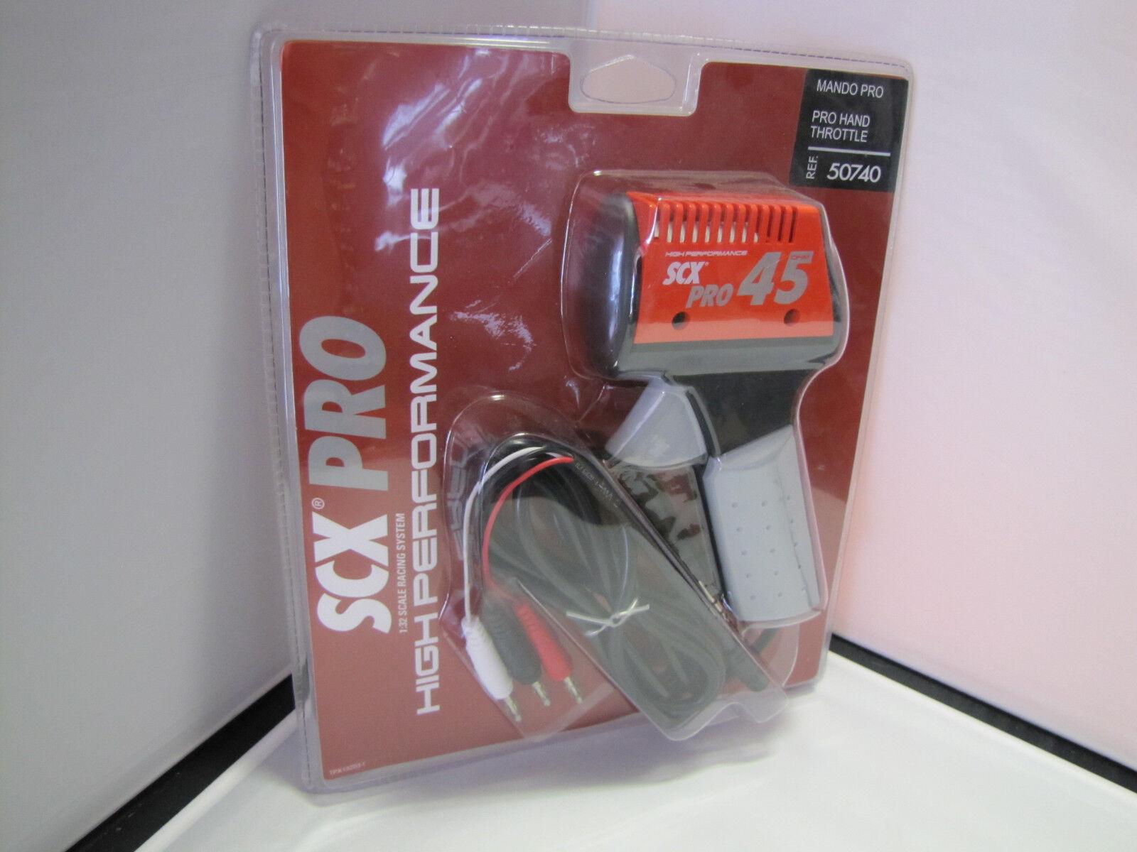 REF. 50740 SCX Pro Pro Pro 45 High Performance Hand Throttle - 1 32  - NEU   OVP  | Elegantes und robustes Menü  b60a4c