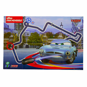 Disney-Cars-2-Poster-Kids-Wall-Art-Film-Characters-Racing-Finn-McMissile-PRE354