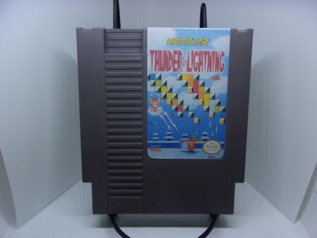 Thunder & Lightning (Nintendo NES) Reconditioned Authentic