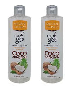 2 NATURAL HONEY OIL & GO COCO ADDICTION OLIO IDRATANTE DOCCIA 300 ML