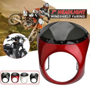 7-034-Scheinwerfer-Verkleidung-Universal-Lampenmaske-Fuer-Harley-Honda-Yamaha-USW