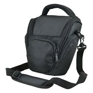 DSLR Camera Shoulder Bag Case For Canon EOS 60D 60Da 50D 40D 1100D 1000D Black