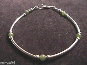 """Turquoise /& Sterling Silver Tube Style Bracelet 925 SS 6.5/"""" 7/"""" 7.5/"""" or 8/"""""""