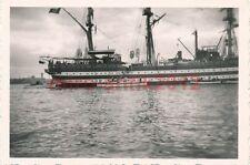 3 x Foto, Rückblicke an den Minensucher M122, Blick auf ein Segelschiff (W)1284